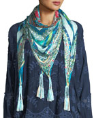 Boutique Silk Georgette Scarf
