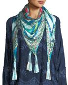 Boutique Silk Georgette Scarf
