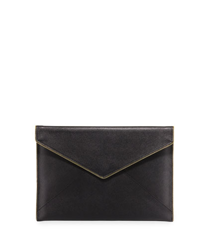 Leo Slim Envelope Clutch Bag