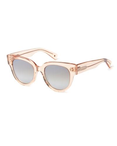 Transparent Acetate Polarized Sunglasses