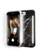 Limited Edition iPhone 8 Plus Photo-Lighting Duo Case, Black Marble