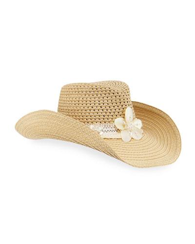 St. Tropez Woven Squishee Hat