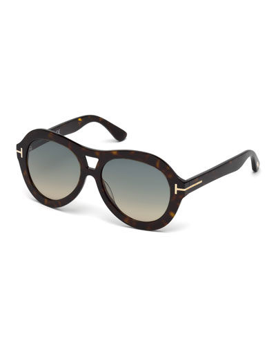 Isla Chunky Aviator Sunglasses