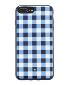 gingham resin phone case for iPhone® 7/8 Plus
