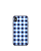 gingham resin phone case for iPhone® X