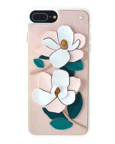 magnolia silicone iPhone® 7/8 plus case