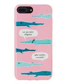 jeweled alligator iPhone® 7/8 plus case