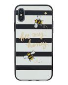 jeweled bee my honey iPhone® X phone case