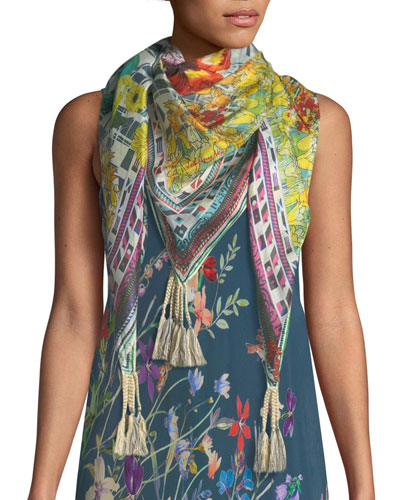 Swag Silk Georgette Scarf