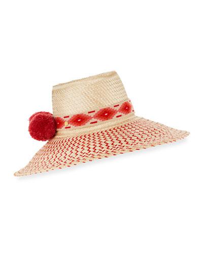 Guajiro Zigzag Mawisa Sun Hat