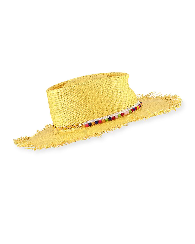 Naomi Panama Straw Hat