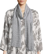 Broken Stripes Printed Scarf