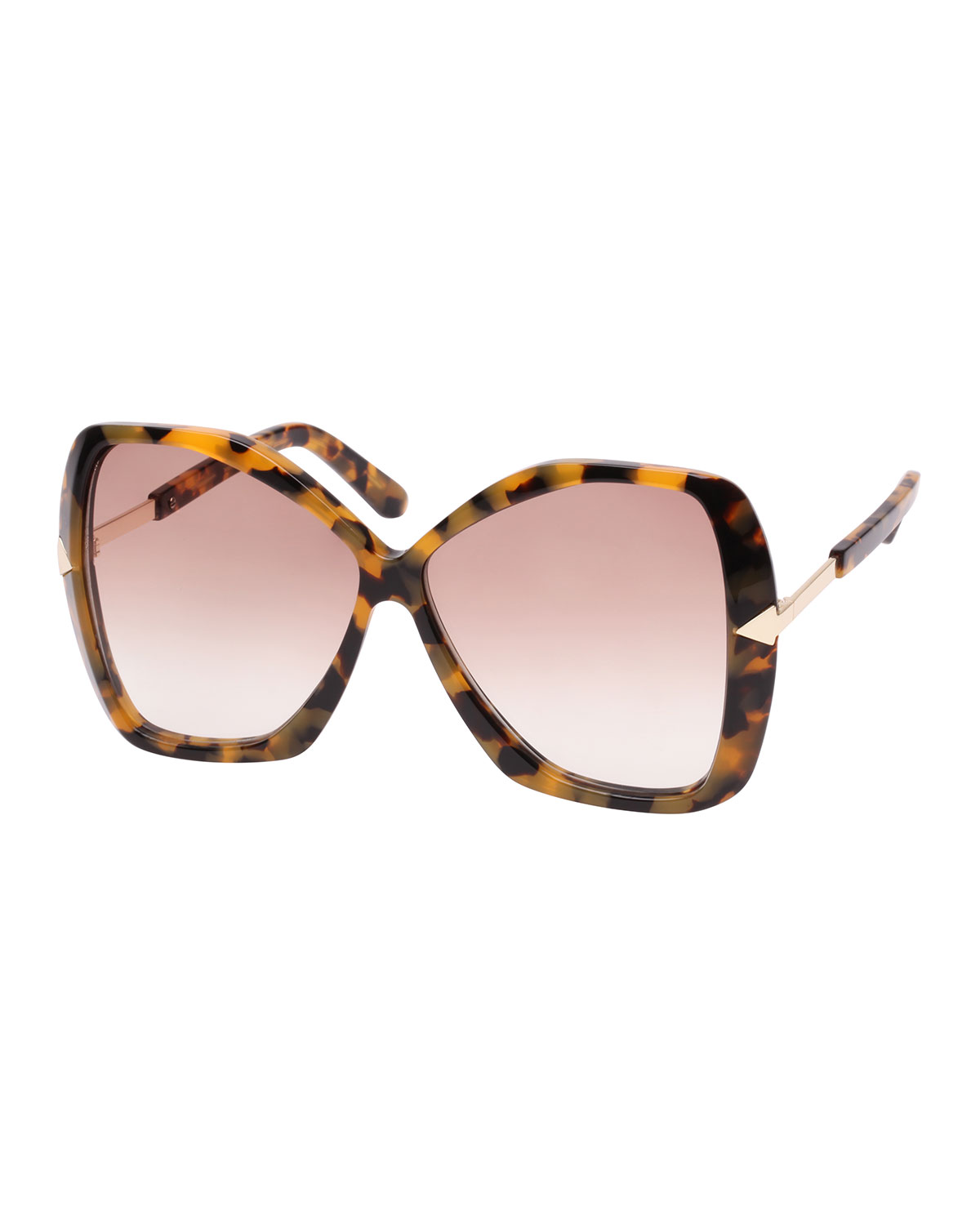 56751b48b868 KAREN WALKER MARY ACETATE BUTTERFLY SUNGLASSES