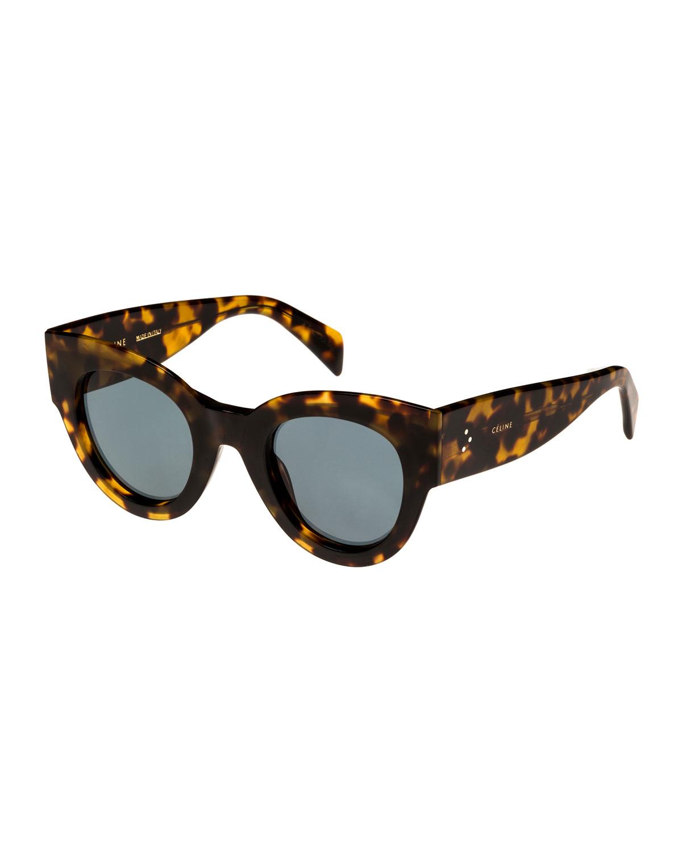 046baa7099a Acetate Cat-Eye Adjusted-Fit Sunglasses