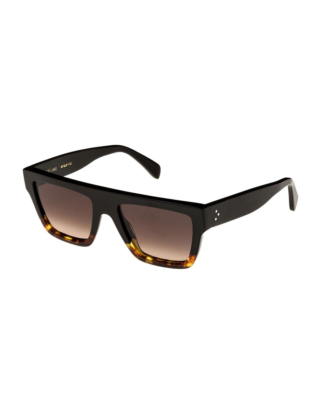 59Mm Square Sunglasses - Black/ Havana/ Smoke