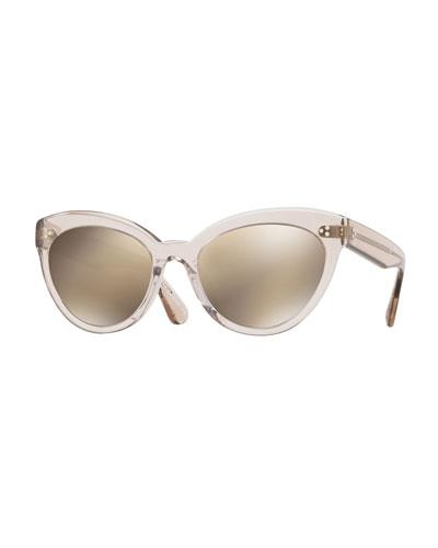 3d84159c843 Plastic Cat Eye Sunglasses