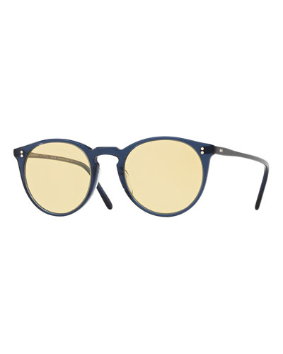 65d74d3b4a Quick Look. Oliver Peoples · O Malley Peaked Round Sunglasses