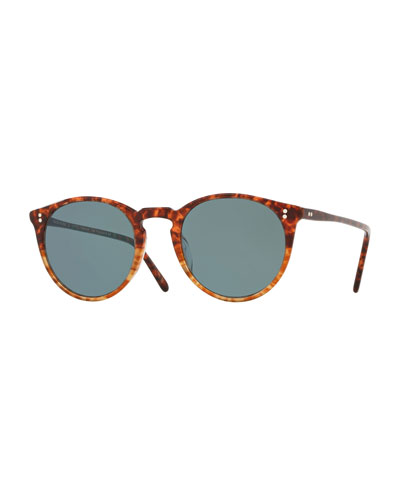 O'Malley Peaked Round Photochromic Sunglasses