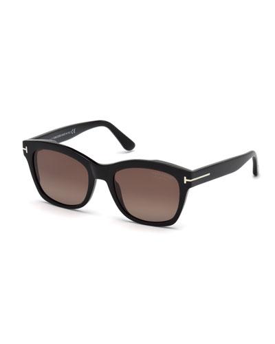 Lauren 02 Mirrored Square Sunglasses