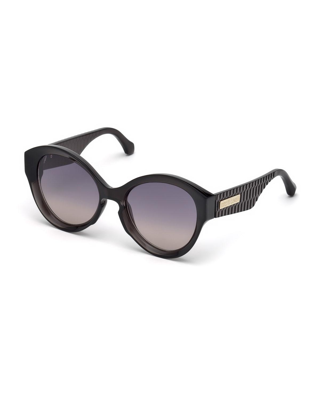 Roberto Cavalli Sunglasses GRADIENT ROUND SUNGLASSES