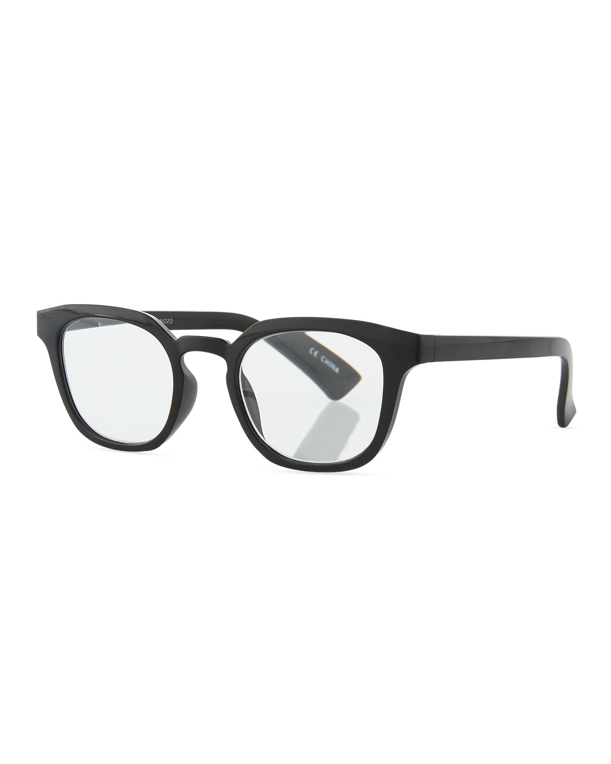 Cents And No Ability Reading Glasses in Black Pattern