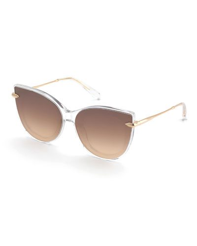 9fcc52ffe1 Crystal Fitted Sunglasses