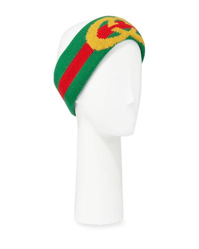 a903ddf2852 Quick Look. Gucci · GG Intarsia Wool Headband