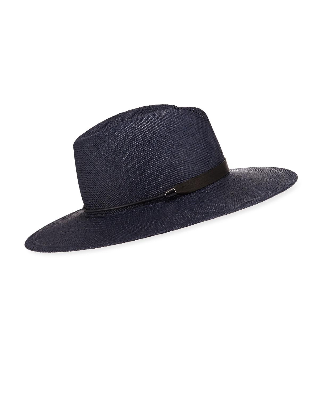 Zoe Straw Fedora Hat