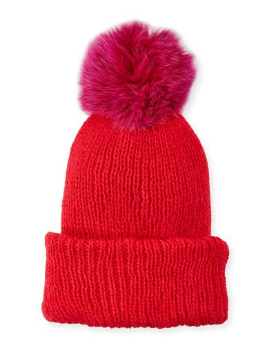 d1aaefb5c1d Quick Look. Eugenia Kim · Maddox Beanie Hat w  Fur Pompom