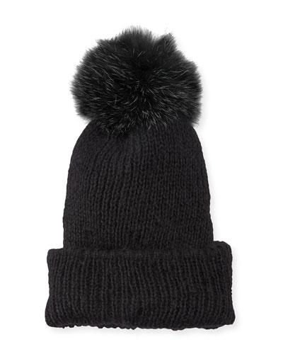 Dyed Fur Hat  ef4119861105