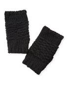 Rebecca Minkoff Chunky Knit Arm Warmers