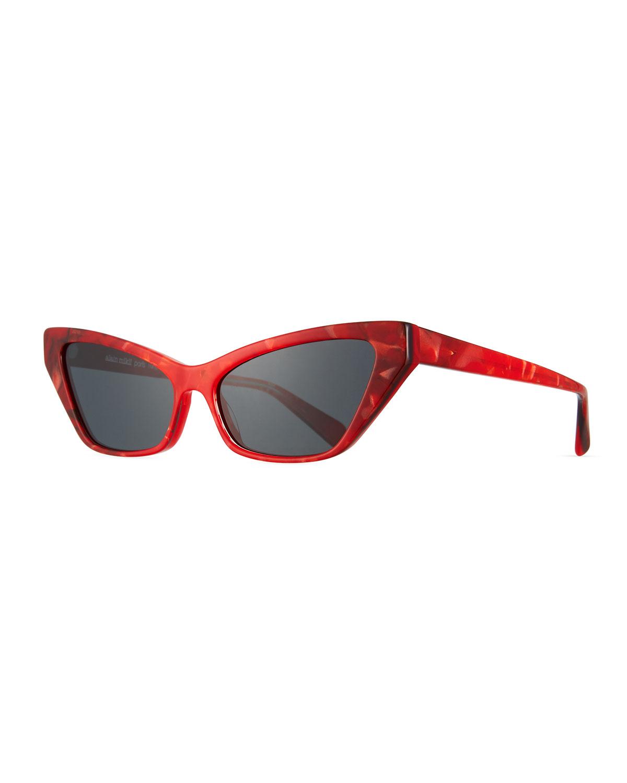 Le Matin Acetate Cat-Eye Sunglasses