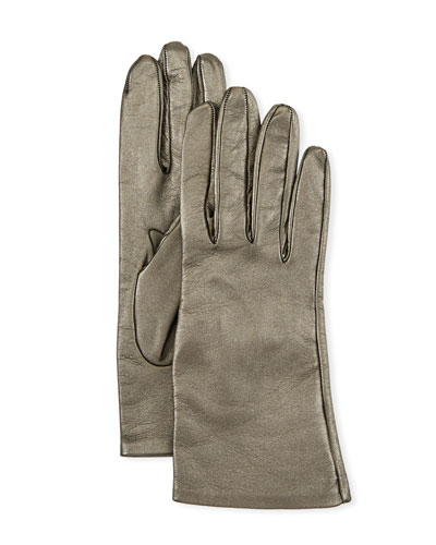 c61f911eb19 Quick Look. Portolano · Metallic Napa Leather Gloves