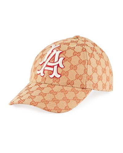 d10c4f2ef0c Quick Look. Gucci · LA Angeles MLB GG Supreme Baseball Hat