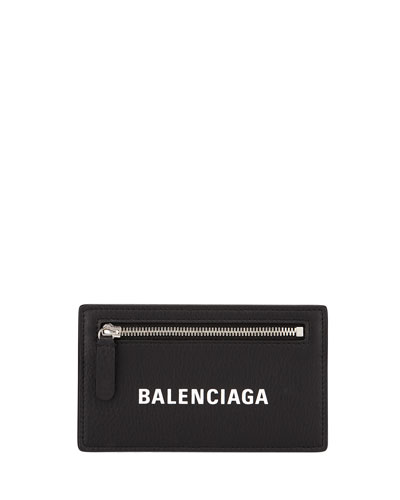 Leather card holder neiman marcus quick look balenciaga long leather card holder colourmoves