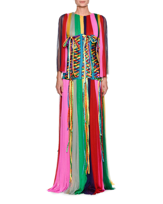 Rainbow Corset Belt