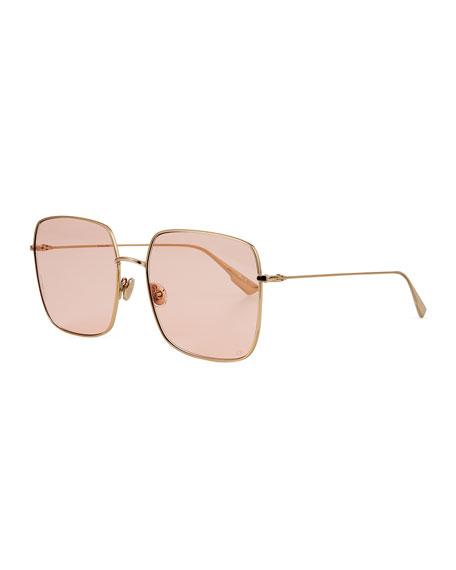 Dior Diostellaire1 Square Metal Sunglasses
