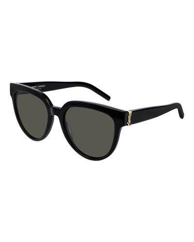 YSL Acetate Cat-Eye Sunglasses