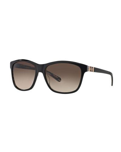 32c40d34d43 Gradient Lenses Cat Eye Sunglasses