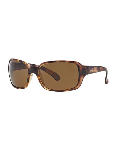 bbe534128c Quick Look. Ray-Ban · Square Polarized Plastic Sunglasses