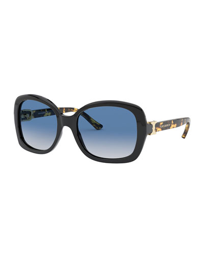f082040a3c7e Quick Look. Tory Burch · Rectangle Acetate Sunglasses