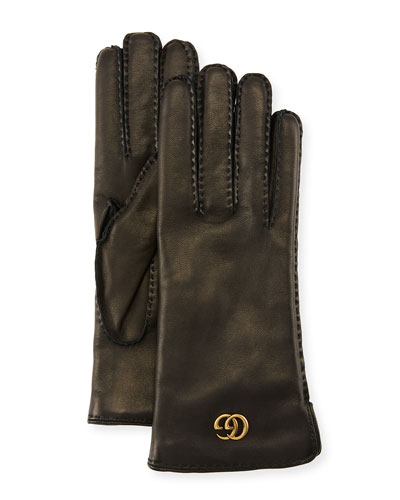 8363611d4 Quick Look. Gucci · Leather Gloves ...