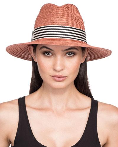 0980d15ecdd2f Quick Look. Eugenia Kim · Courtney Packable Hemp Fedora Hat w  Wide ...