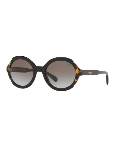 919ed85087c Quick Look. Prada · Oval Acetate Sunglasses