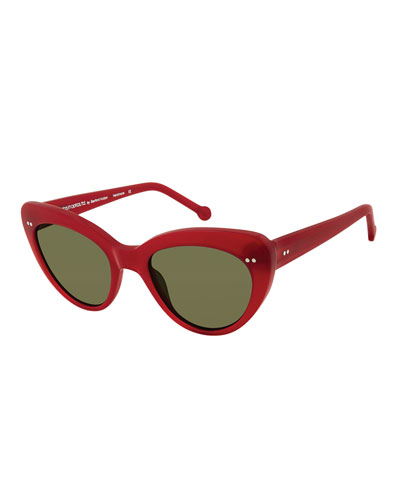 3ab2f3b8c511 Red Cat Eye Eyewear | Neiman Marcus