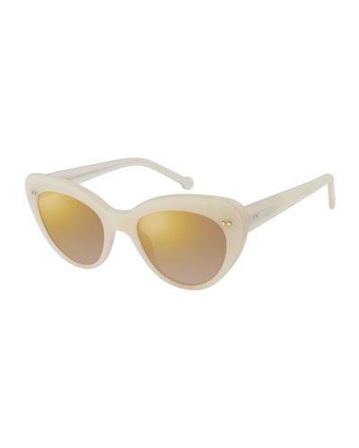 e58bf79b86 Quick Look. Colors In Optics · Lolita II Mirrored Cat-Eye Sunglasses