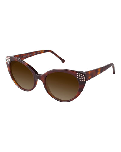 c85093a9a0f Tortoise Cat Eye Sunglasses