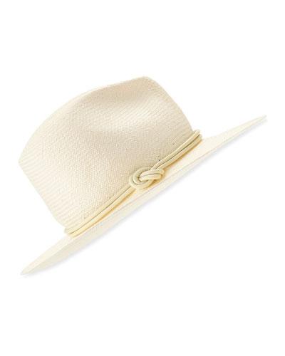 Cap Cana Straw Fedora Hat