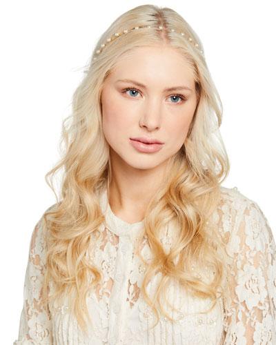 Bianca Crystal Pearl Headband