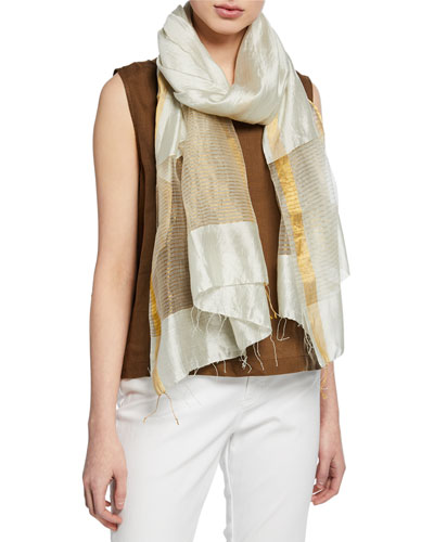Handloom Gauzy Silk Wrap